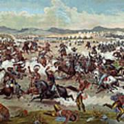 Custer's Last Charge Art Print