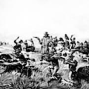 Custer's Last Fight, 1876 Art Print