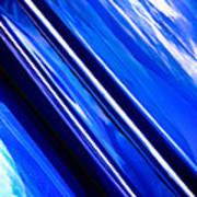 Custom Blue Paint Art Print by Phil 'motography' Clark