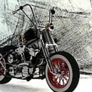 Custom Bobber Art Print