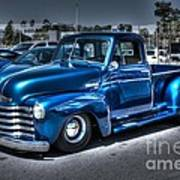 Custom Chevy Pickup Art Print