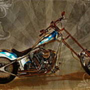 Custom Desperado Chopper 2014 Art Print