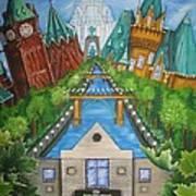 Custom Home Interiors - Ottawa Landmarks Art Print