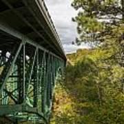 Cut River Bridge 3 A Art Print