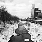 Cuyahoga River Art Print