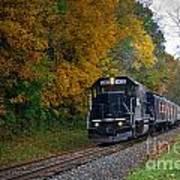 Cuyahoga Valley Scenic Railroad 2 Art Print