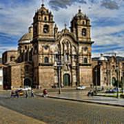 Cuzco Church Art Print