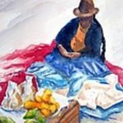 Cuzco Market Art Print