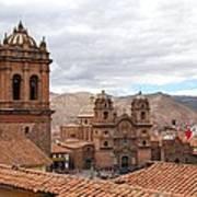 Cuzco Plaza Del Armas Art Print
