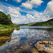Cwellyn Lake Wales Art Print