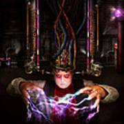 Cyberpunk - Mad Skills Art Print by Mike Savad