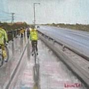Cycle Club Art Print