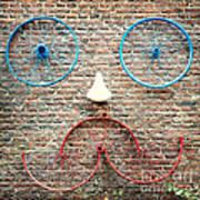 Cycle Face Art Print