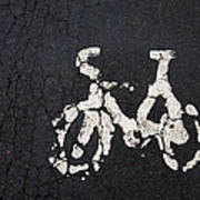 Cycle Lane Art Print