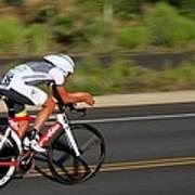 Cycling Time Trial Art Print