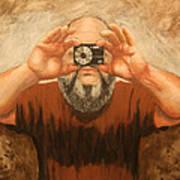 Cyclopes A Self Portrait Art Print