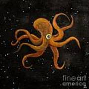 Cycloptopus Black Art Print