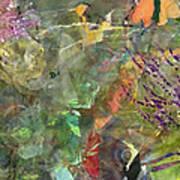 Cynthia's Garden 1 Art Print