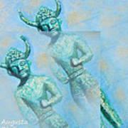 Cyprus Gods Of Trade. Art Print by Augusta Stylianou