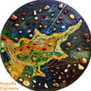 Cyprus Planets Art Print
