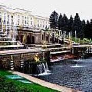 Czar Summer Palace Fountain Art Print