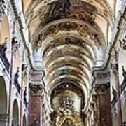 Czech Rep.. Prague. Church Of St Jacob Art Print