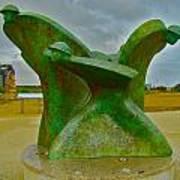 D-day Memorial For Juno Beach Heros Art Print