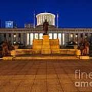 D13l112 Ohio Statehouse Photo Art Print