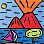 da Posillipo - America's Cup Art Print