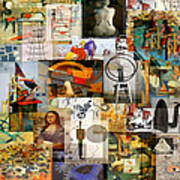 Dada Movement 1916  To 1922 Art Print