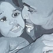 Daddy's Girl Art Print