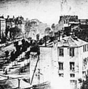 Daguerreotype, 1838 Art Print