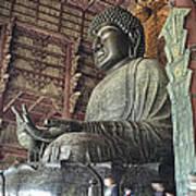 Daibutsu Buddha Of Todai-ji Temple Art Print