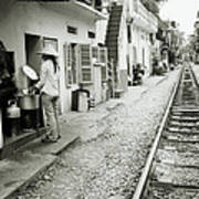 Daily Life In Hanoi Art Print