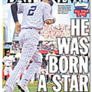 Daily News Back Page Derek Jeter Art Print