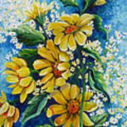 Daisy Breath Art Print