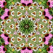 Daisy Daisy Do Kaleidoscope Art Print