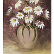 Daisy Delight Art Print by Nancy Edwards