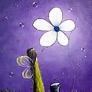 Daisy Fairy By Shawna Erback Art Print by Shawna Erback