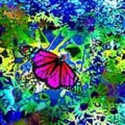 Daisy Garden Art Print