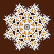 Daisy Mandala  12t Art Print