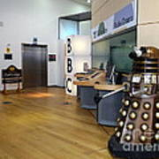 Dalek At The Bbc Art Print