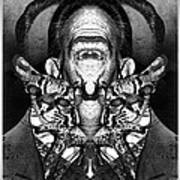 Dali Flipped 1 Art Print