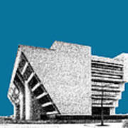 Dallas Skyline City Hall - Steel Art Print