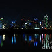 Dallas Reflections Art Print