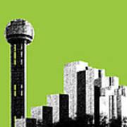 Dallas Reunion Tower Art Print by DB Artist