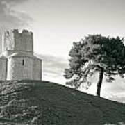 Dalmatian Stone Church On The Hill Art Print by Brch Photography