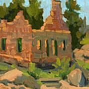 Dam Watcher's Old Home Art Print