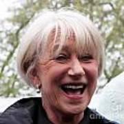 Dame Helen Mirren Art Print