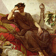 Damocles Art Print by Thomas Couture